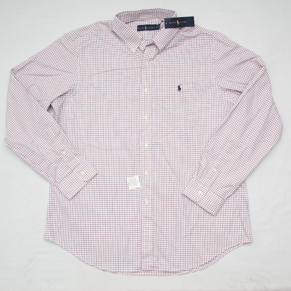 fc39f10d2 Ralph lauren polo casual woven tattersall shirt XL